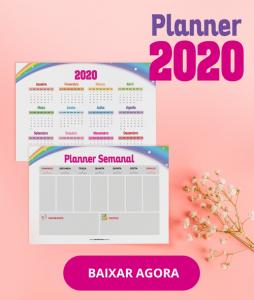 Planner 2020 para Download – Versão Grátis e Versão Completa - Planner Semanal, Mensal, Anual, Controle do Ciclo Menstrual, Cronograma Capilar, Fitness, Controle Financeiro e mais. Baixe Agora!
