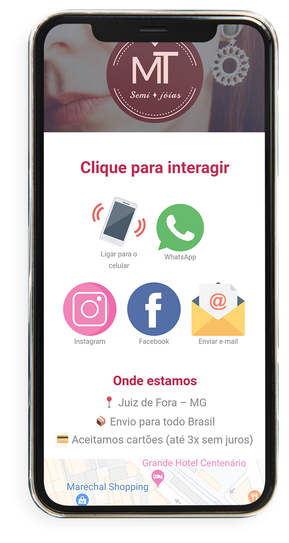 Cartão de Visita Interativo Virtual