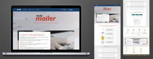 Site - BraZip Mailer (layout + conteúdo)