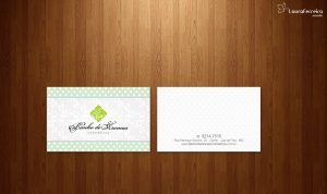 Banho de Aromas - Logotipo + Cartão de Visitas