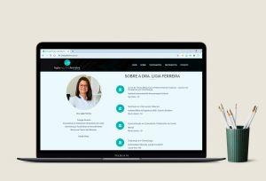 Site - Dra Lígia Ferreira (Dentista)