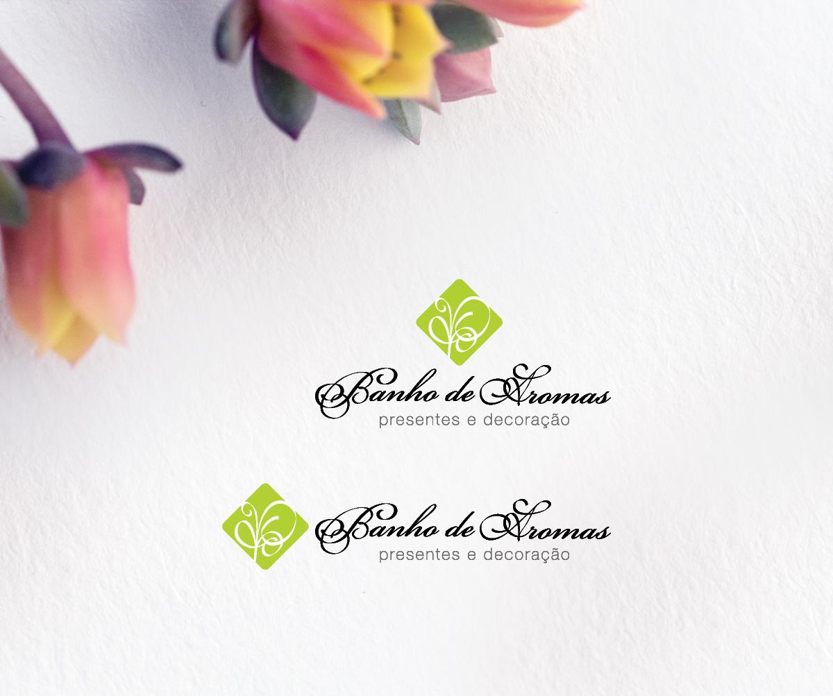 Banho de Aromas - Logotipo