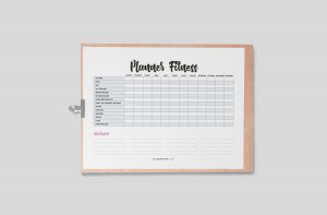 Planner 2021 para Baixar (Design Minimalista) Planner Fitness
