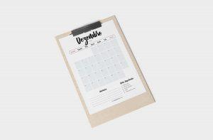 Planner 2021 para Baixar (Design Minimalista) Planner Mensal - Dezembro