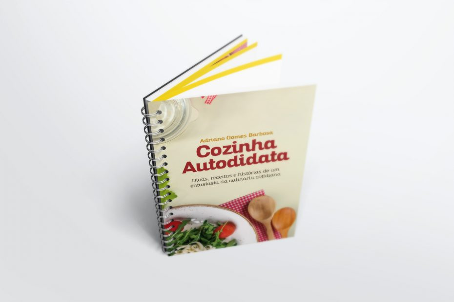 Livro - Cozinha Autodidata (Adriano Gomes Barbosa)