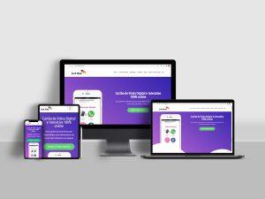 Site Responsivo - LinkMap (Cartão Digital Online)